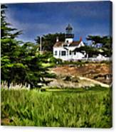 Monterey Lighthouse Canvas Print