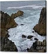 Monterey Rocks - California Canvas Print