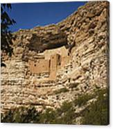 Montezuma Castle National Monument Az Dsc09056 Canvas Print