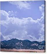Montezuma County Landmark Canvas Print