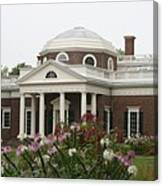 Monticello Estate Canvas Print
