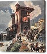 Montlue Seizes The Moulins Dauriol Canvas Print