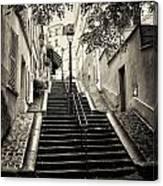 Montmartre Mono 01 Canvas Print