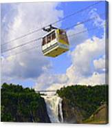 Montmorency Falls And Gondola Canvas Print