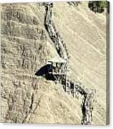 Montmorency Falls Stairway Canvas Print