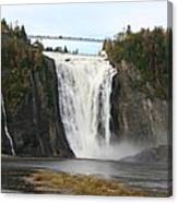 Montmorency Waterfall - Canada Canvas Print