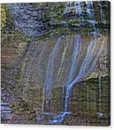 Montour Falls Fall Panorama Canvas Print