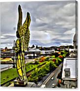 Montreal Angel Canvas Print