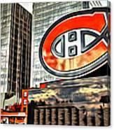 Montreal C Canvas Print