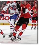Montreal Canadiens V Ottawa Senators - Canvas Print