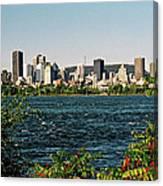 Montreal - Sur Le Fleuve  Canvas Print