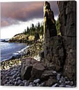 Monument Cove Sunrise 4984 Canvas Print