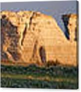 Monument Rocks Panorama Canvas Print