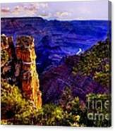 Monument To Grand Canyon  Canvas Print