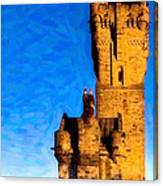 Monument To The Legendary William Wallace Canvas Print