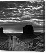 Monument Valley 001 Canvas Print