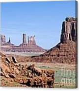 Monument Valley 10 Canvas Print