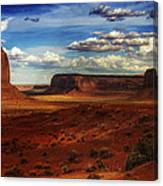 Monument Valley 8 Canvas Print