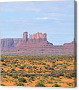 Monument Valley Area Canvas Print