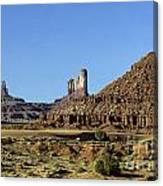 Monument Valley Arizona State Usa Canvas Print
