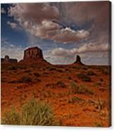 Monument Valley Desert Canvas Print
