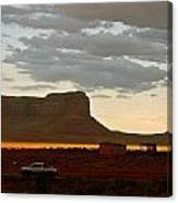 Monument Valley Glow 1 Canvas Print