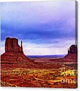 Monument Valley Navajo National Tribal Park Canvas Print