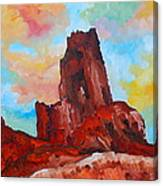 Monument Valley Standing Tall Canvas Print