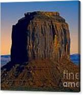 Monument Valley -utah V14 Canvas Print