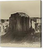 Monument Valley -utah V16 Canvas Print