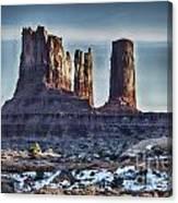 Monument Valley -utah V17 Canvas Print