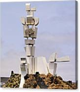 Monumento Al Campesino On Lanzarote Canvas Print