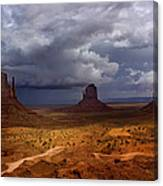 Monuments Of The West Canvas Print