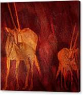 Moods Of Africa - Gazelle Canvas Print