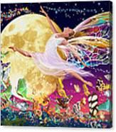 Moon Fairy Variant 1 Canvas Print