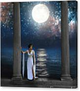 Moon Goddess Canvas Print