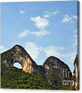 Moon Hill, Yangshuo, China Canvas Print