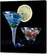 A Creative Cocktail - Moon Light Cocktail Lemon Flavour 1 Canvas Print