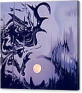 Moon Madness Canvas Print