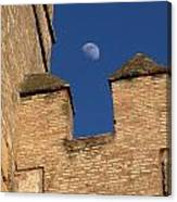 Moon Over Alcazar Canvas Print