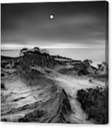 Moon Over Broken Hill Canvas Print