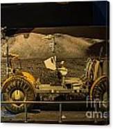 Moon Rover Canvas Print