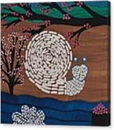 Moon Snail Bella Coola Canvas Print