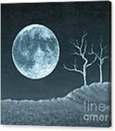 Moon Worship Canvas Print