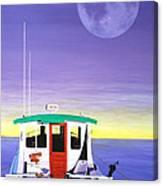 Moonbeam Canvas Print
