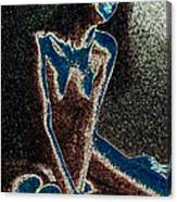Moonblind Muse Canvas Print