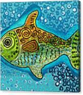 Moonfish Canvas Print