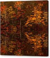 Moonlight Autumn Canvas Print