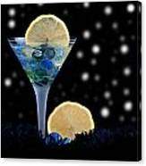 Creative - Moonlight Dark Star Cocktail Lemon Flavoured 1 Canvas Print