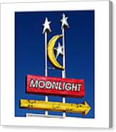 Moonlight Drive In Canvas Print